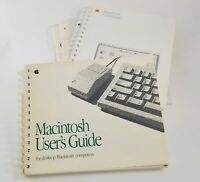 Vintage 80s 90s Apple Computer Owners Guides Users Manual Book Lot