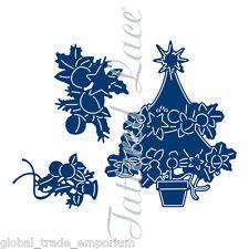 """Tattered lace essentials """"la magie de noël arbre + stamp set"""" - ETL344"""