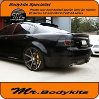 PLASTIC REAR BOOT BOBTAIL SPOILER WING-COMMODORE VE Z/REDLINE/EQUIPE/SV6/801