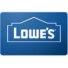 Lowes Gift Card $100 Value, Only $97.00! Free Shipping!