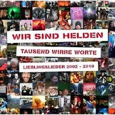 """WIR SIND HELDEN """"TAUSEND WIRRE WORTE..."""" 2 CD+DVD NEU"""