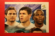 Panini EURO 2012 N. 487 ENGLAND TEAM  NEW With BLACK BACK TOPMINT!!