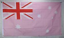 Big 1.5 Metre Pink Australia Large New Flag 3x5ft Australian Aussie