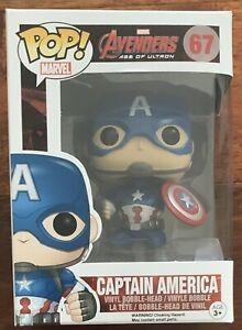 Captain America Funko Pop Vinyl #67 Avengers Age Of Ultron Marvel New