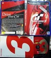 GRAN TURISMO 3 A-SPEC NTSC JAPAN IMPORT COMPLETO PS2 PLAYSTATION 2 ENVIO 24H