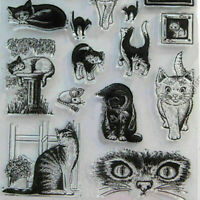 Cat Scrapbooking Cutting Dies Stencil DIY Album Card Paper Embossing Craft V4H1