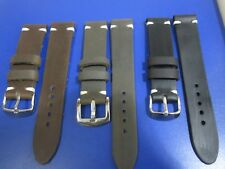20mm-22mm Correa Reloj cuero Pulsera Leather Watch Band Strap