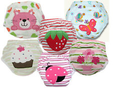 6 Pack Girls Toilet Potty Training Pants Babyfriend Baby Toddler Butterfly