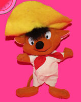 Vintage 1996 Plush SPEEDY GONZALES Mouse Looney Tunes Yellow Hat Stuffed Animal
