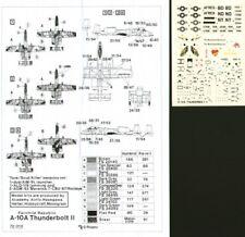 HI Decal 1/72 Fairchild A-10A # 72010
