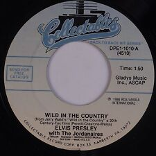 ELVIS PRESLEY: Wild in the Country / I Feel So Bad USA Collectibles 45