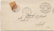 P7216   Terni, Amelia,  annullo numerale a sbarre 1883