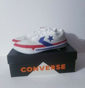 Converse All Star Pro BB City Pack Red White Blue Basketball 167292C Size 10.5
