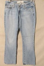 F1709 Abercrombie& Fitch Cool Boot Cut Jeans Women's 33x32