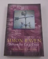 Before The Cock Crow By Simon Raven - The First Born Of Egypt Series Vol. 3