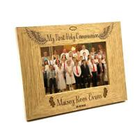 Girls First Holy Communion Personalised Photo Frame Gift FW210