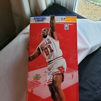 1997 NBA Starting Lineup Dennis Rodman Chicago Bulls 12 Inch Poseable Figure