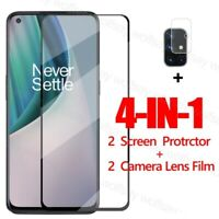 4-in-1 For Oneplus Nord N10 5G N100 Screen Protector Glass & Camera Lens Film