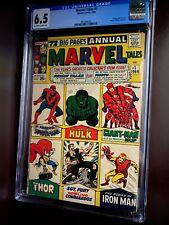Marvel Tales #1 (1964)  CGC 6.5 / Origin of Spider-Man, Hulk, Thor and Iron Man