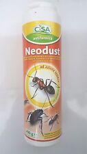 Neodust Polvere Insetticida Antiformiche, Antiscarafaggi e Antipulci 200 g CISA