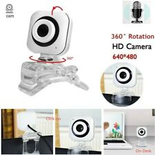 HD Webcam USB Computer Web Camera For PC Laptop Desktop Video Cam W/ Microphones