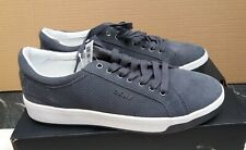 DKNY Samson Lace Up Sneaker Trainers - Grey - UK 9