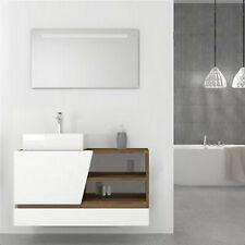 specchio bagno nuovo 100 cm x50 cm con illuminazione a Led integrata incluso