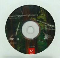 Original Adobe Photoshop Lightroom 5 DVD Vollversion Windows & Mac OS