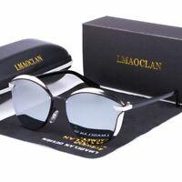 Women Polarized Sunglasses Luxury Fashion Cat Eye Ladies Vintage Female Glasses