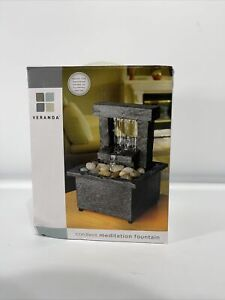 Cordless Tabletop Fountain Tranquility Meditation Open Box