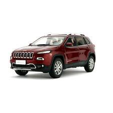 ORIGINAL MODEL 1:18 Jeep Cherokee 2016,Chrysler,RED