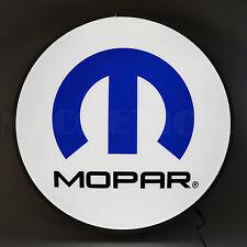 """Mopar Omega Back Lit Led Sign - Dodge - Hemi - Chrysler - Plymouth - Lamp - 22"""""""