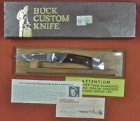 Vintage US BUCK 500 Custom Shop Limited Edition Lock Back Folding Pocket Knife