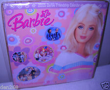 #8491 NEW Scholastic 2005 16 Month Barbie Friendship Calendar