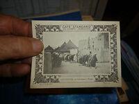 Ancienne Image d'album du Café Standard COTE d'IVOIRE Prière devant la  Mosquée