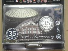 Seattle Mariners 35th Anniversary Commemorative Medallion 39 mm Silver Plated