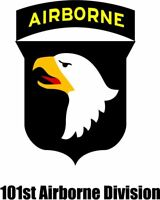 US Army 101st Airborne Division Screaming Eagle Decal