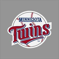 Minnesota Twins MLB Team Logo Vinyl Decal Sticker Car Window Wall Cornhole