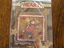 From the Heart Dimensions 1995 STARRY ANGEL Applique Wall Hanging Kit~~NIP