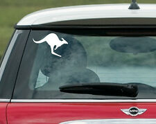 Kangaroo Sticker Decal Car Boat Australian Aussie Symbol Tattoo Logo