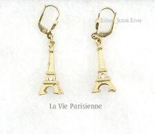La Vie Parisienne Gold Eiffel Tower Earrings