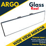 Panoramic Wide Curve Interior Rear View Mirror Safety Angle Large Glass Towing