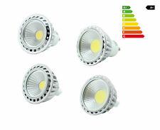 3w/4w/6w/9w cob lámparas LED zócalo gu10 mr16 lámpara luz reflector spot nuevo