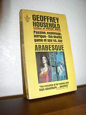 Arabesque by Geoffrey Household (Pyramid #R-957, Jan.1964,Pb)