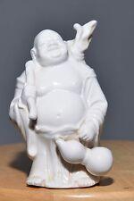 Antique Chinese Buddha Figure Porcelain Blanc De Chine Dehua MINT
