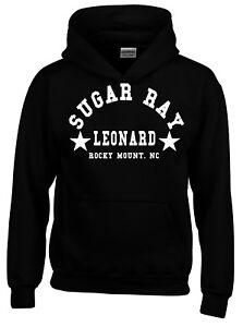Sugar Ray Leonard Boxing Gym Training Mens Hoodie