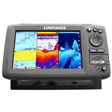 Lowrance HOOK-7 Combo w/83/200/455/800 HDI Transom Mount Transducer