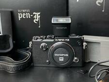 Olympus PEN-F 20.3MP Mirrorless Micro Digital Camera - Black (Body Only)