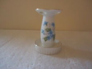 "Vintage Ceramic Floral Themed Toothbrush "" BEAUTIFUL COLLECTIBLE USEABLE ITEM """