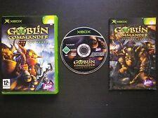 GOBLIN COMMANDER Unleash The Horde : JEU Microsoft XBOX (Jaleco COMPLET suivi)